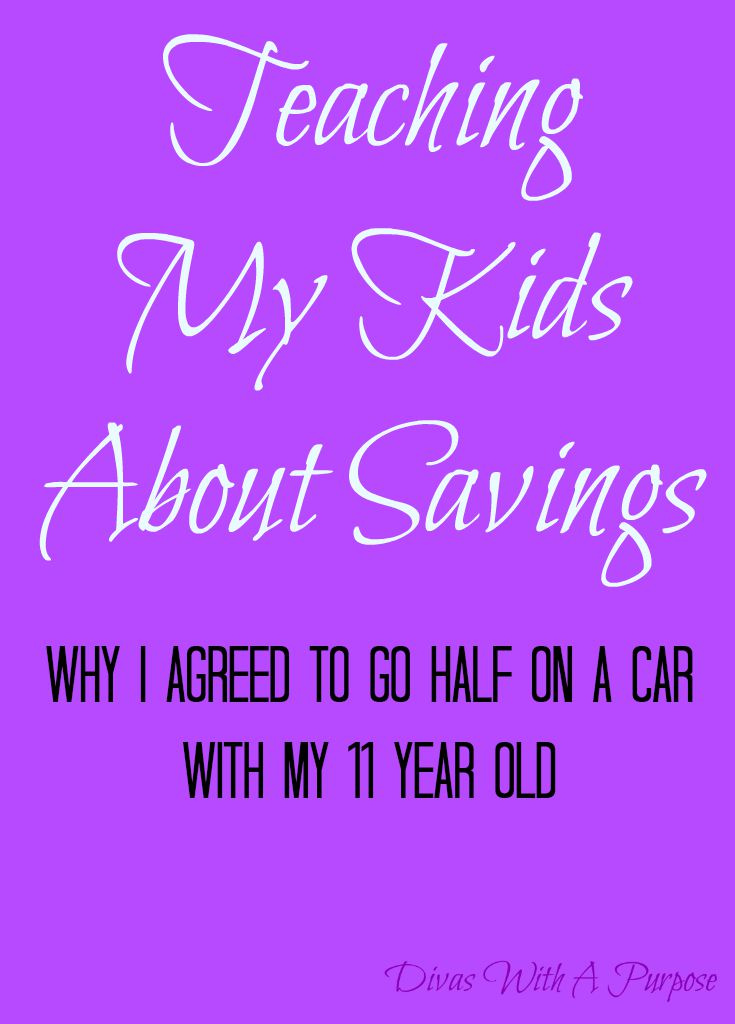 Teaching My Kids About Savings | Divas With A Purpose #BudgetingDivas