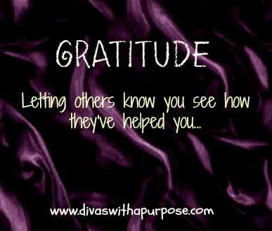 Gratitude: Letting Others Know How They Have Helped You