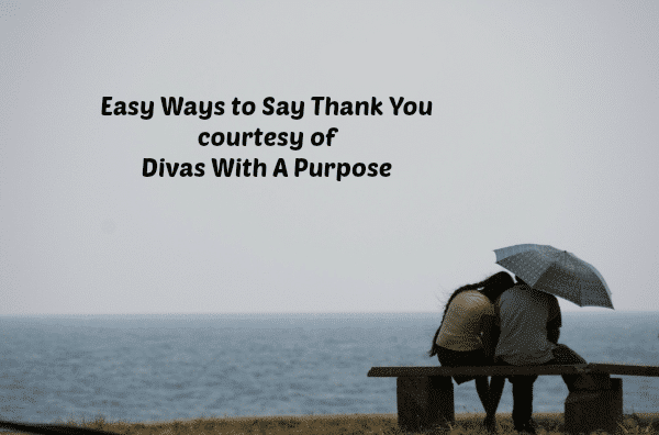 Easy Ways to Say Thank You