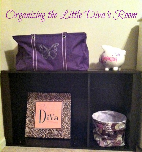 Organizing The Little Diva's Room