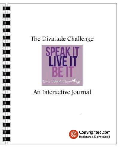 The Divatude Challenge Journal