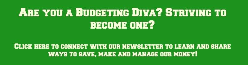 Budgeting Divas Newsletter