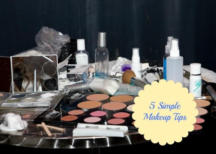 Five simple makeup tips