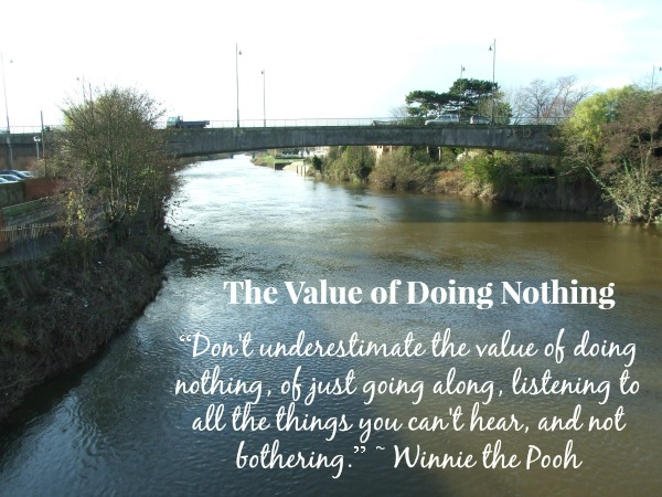 The Value of Doing Nothing
