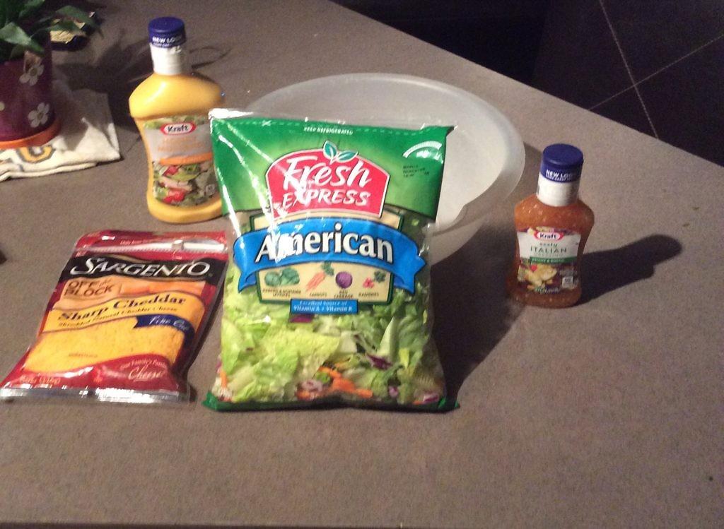 Salad Swap Salad Favorite Ingredients