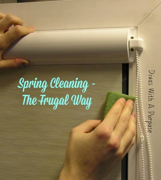 Spring Cleaning - The Frugal Way
