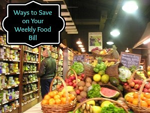 Ways to save on your weekly food bill