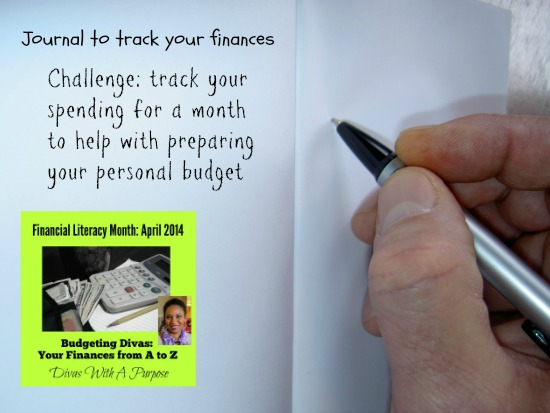Journal to track your expenes #FinancialLiteracy #atozchallenge