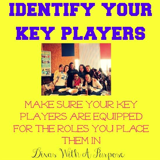 Identify Your Key Players