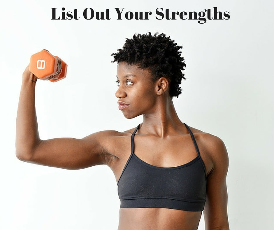 List Out Your Strengths   Divas With A Purpose