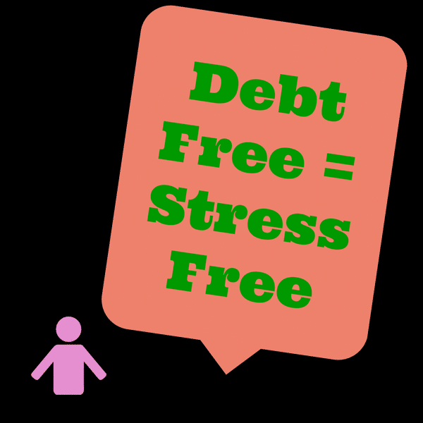 Debt Free Equals Stress Free