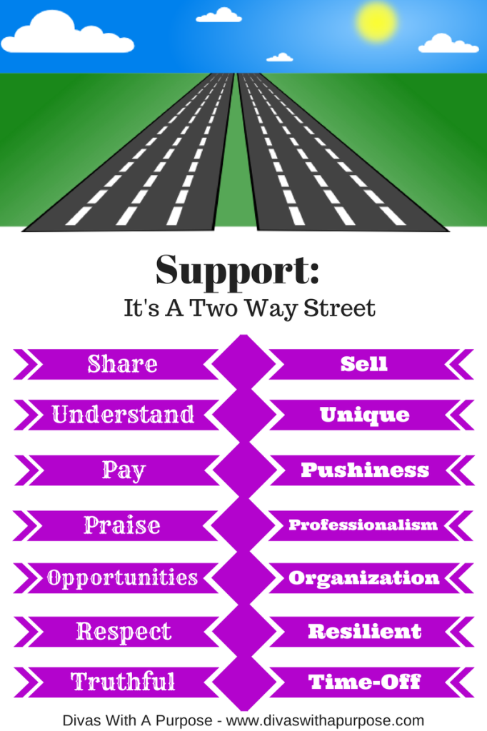 Support: It's A Two Way Street