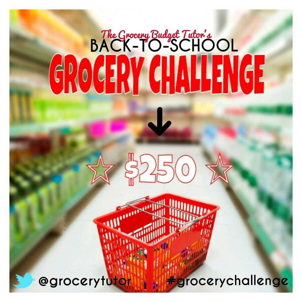 The Grocery Budget Tutor #GroceryChallenge
