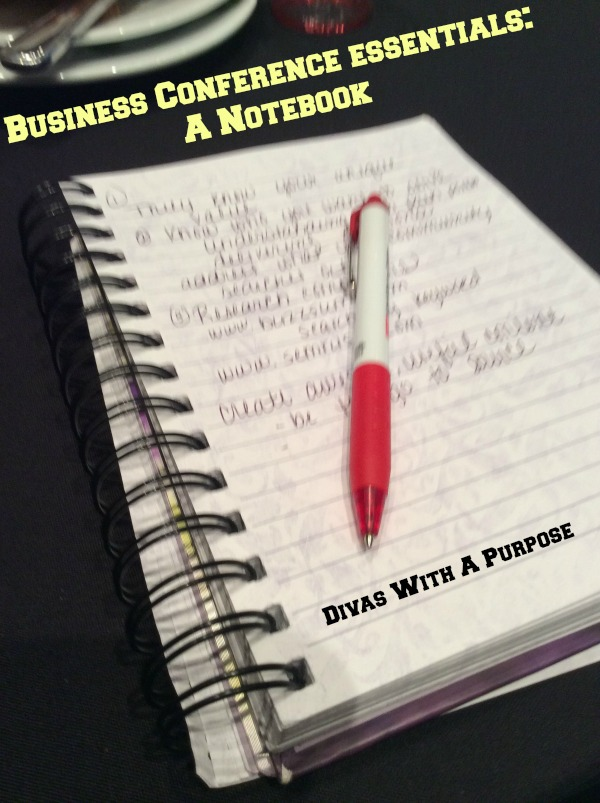 Business Conference Essential A Notebook