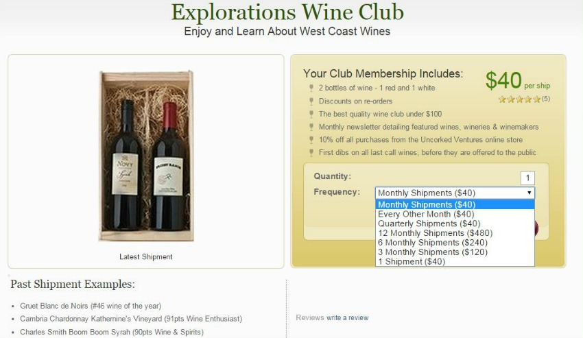 Explorations Wine Club #Uncorked