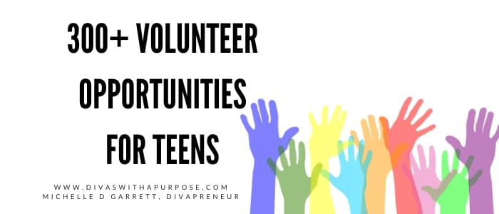 Volunteer Opportunities for Teens