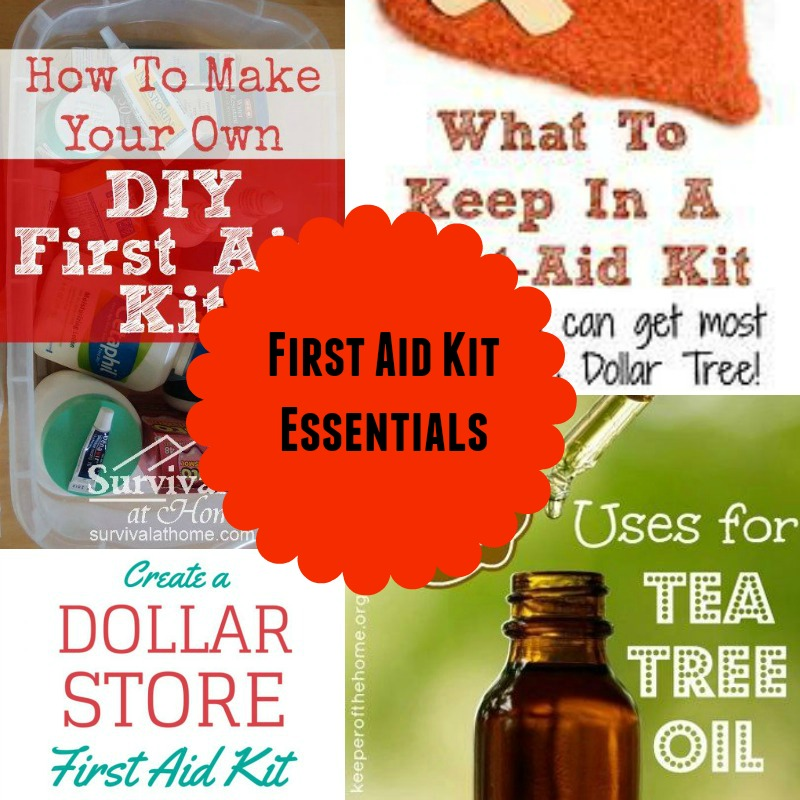 First Aid Kit Essentials | #MakingAHappyHome