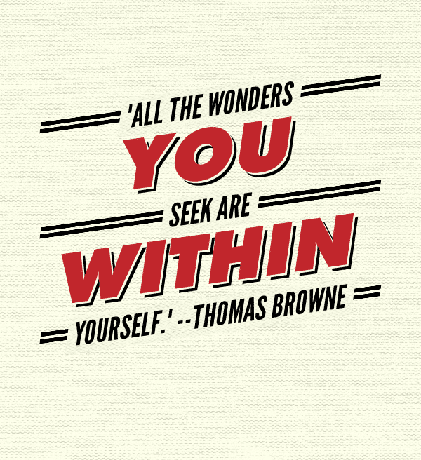All the wonders you seek are within yourself | #VoicesForOurSons