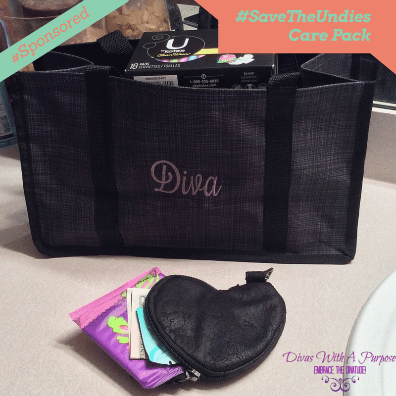 Preparing A Care Pack for the little diva in your life #sponsored