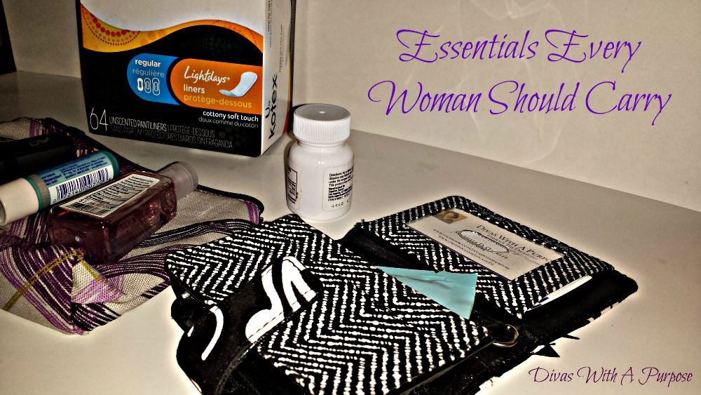 Essentials Every Woman Should Carry