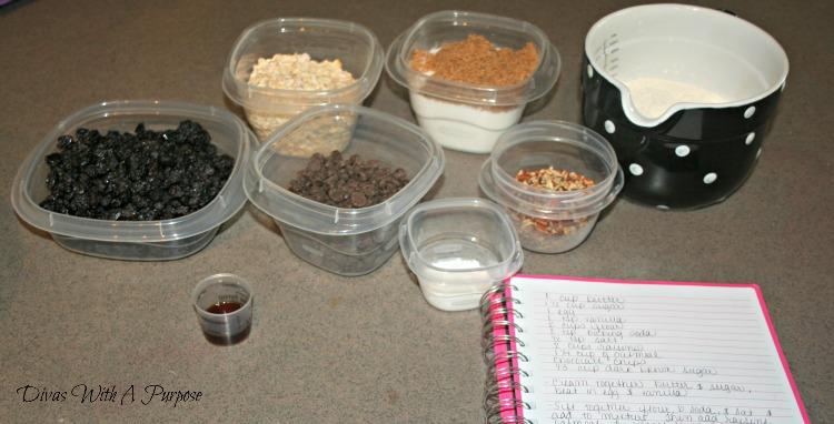 Easy Peasya Cookies Supreme Ingredients