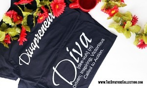 The Divatude Collection Black Tees