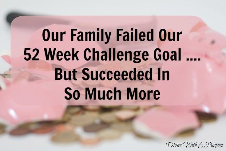 We Failed Our Goal