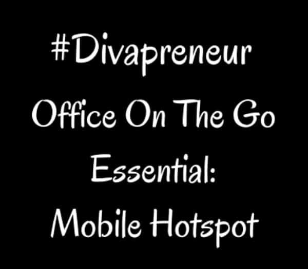 Divapreneur Essentials: Mobile Hotspot