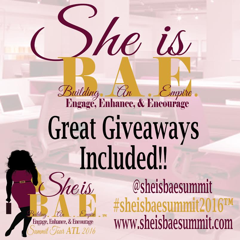 She Is B.A.E. Giveaway