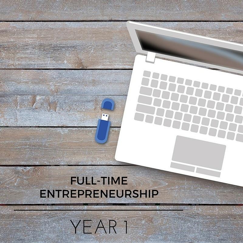 Full Time Entrepreneurship Year 1