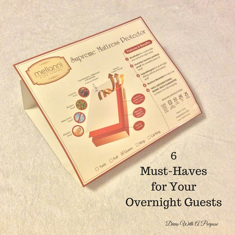 6 Must-Haves for Your Overnight Guests: Mattress Pad