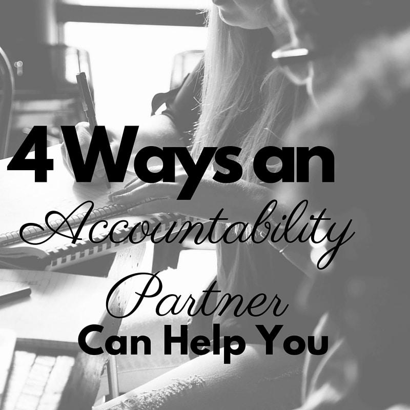 4 Ways An Accountability Partner Can Help You