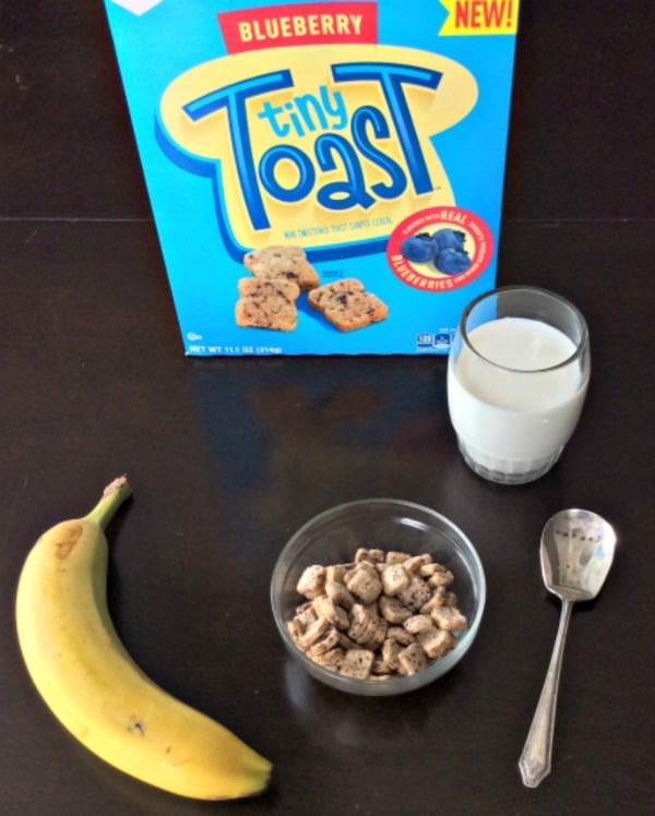 Healthy Breakfast Options with #TinyToastCereal (AD)