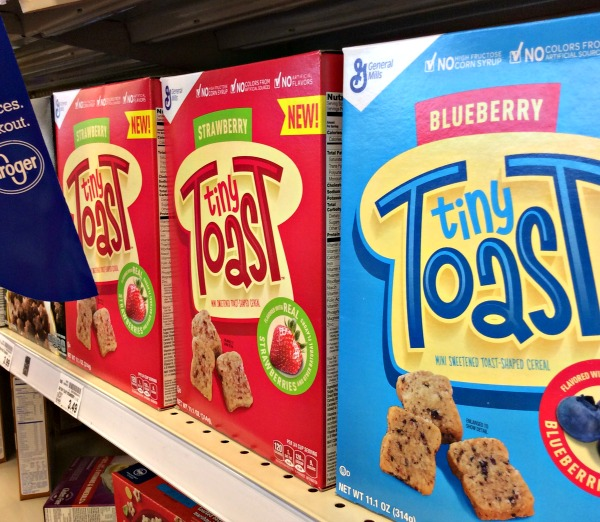 #TinyToastCereal available at #Kroger