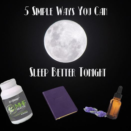 5 Simple Ways You Can Sleep Better Tonight