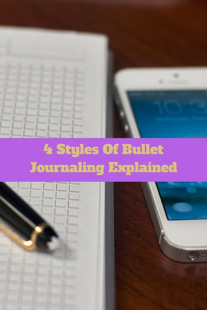 4 Styles of Bullet Journaling