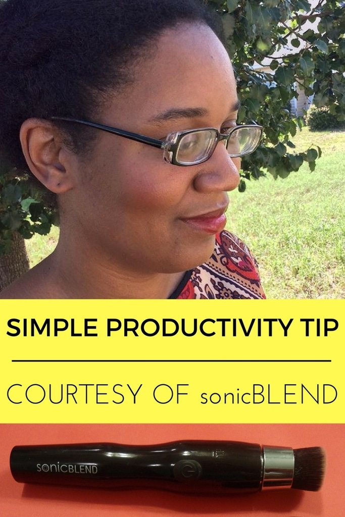 sonicBLEND Simple Productivity Tip