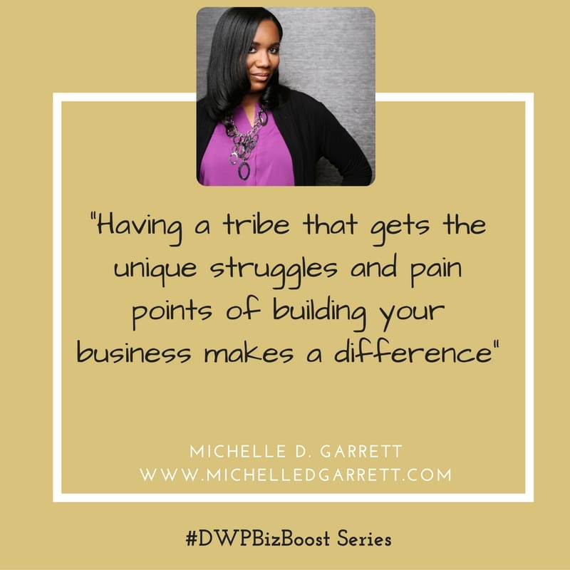 DWP Biz Boost Series Michelle Garrett