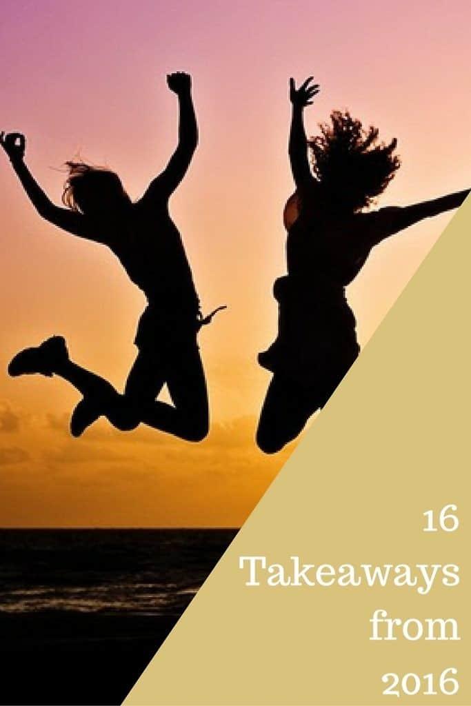 16 Takeaways from 2016