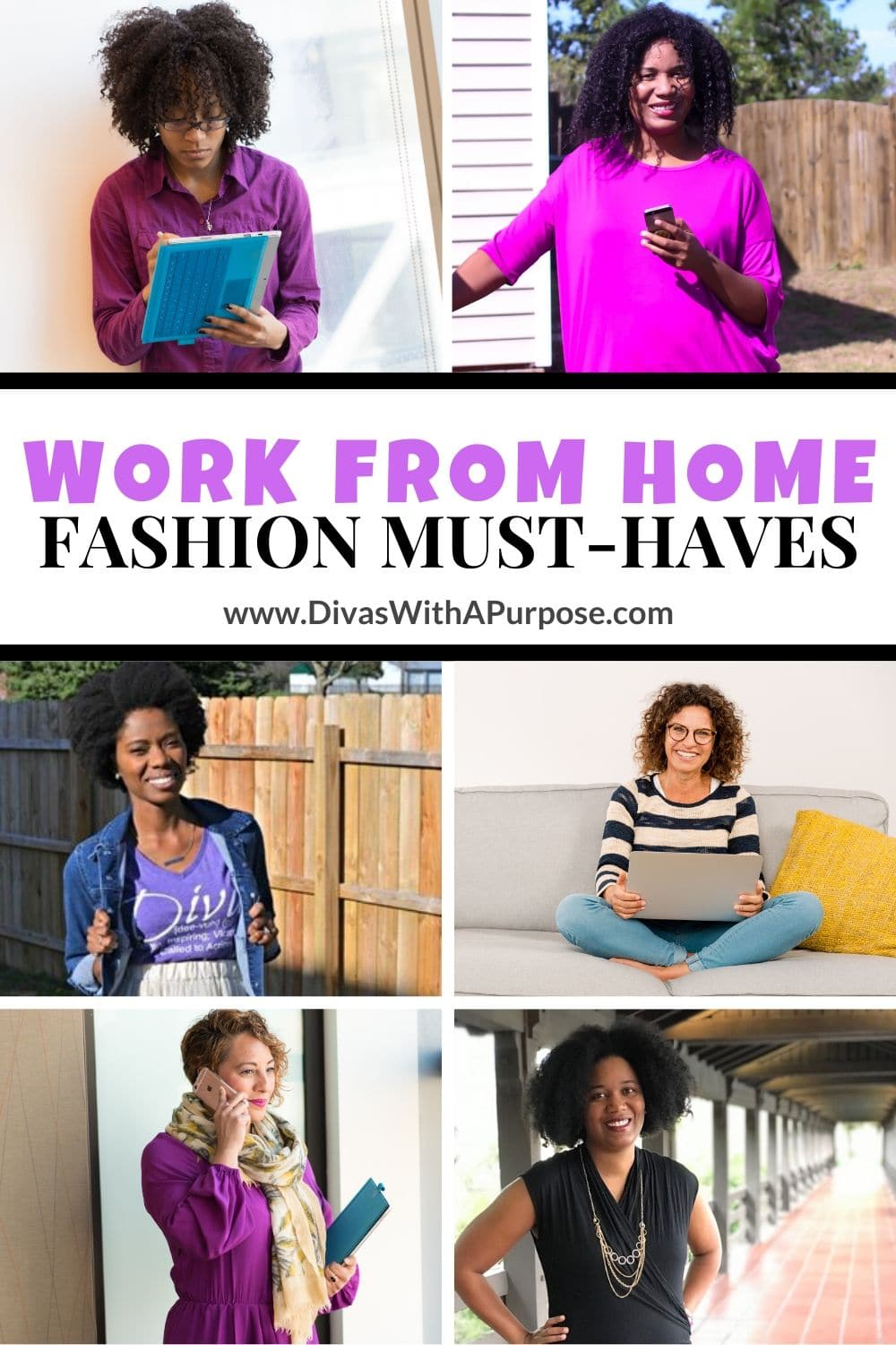 When it comes to work from home fashion find what makes you feel comfortable and confident