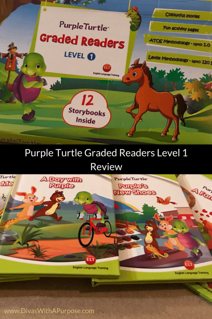 Purple Turtle Graded Readers Level 1 Review