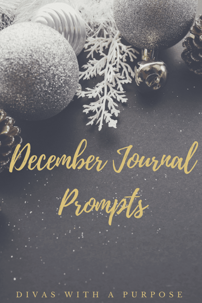 Here is a list of December journal prompts to use in your family journaling projects, live-streams, social media posts and conversations. #journaling