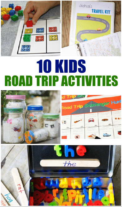 10 Road Trip Activities for Kids