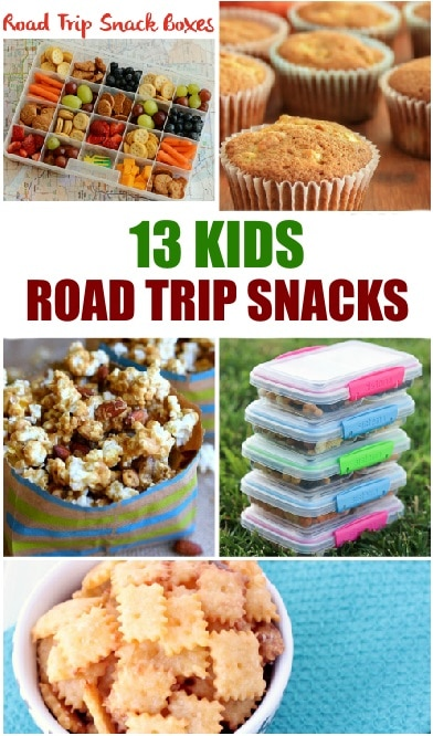 13 Kid-Friendly Road Trip Snacks