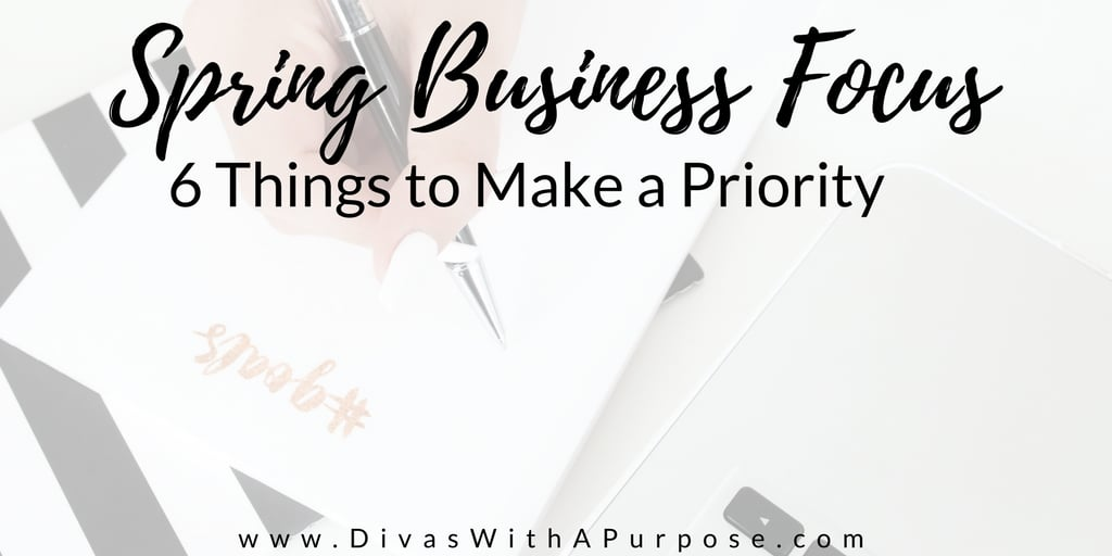 6 Things to Make a Priority