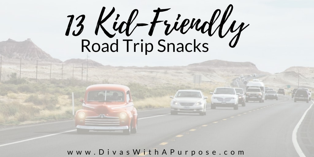 Kid Friendly Road Trip Snacks