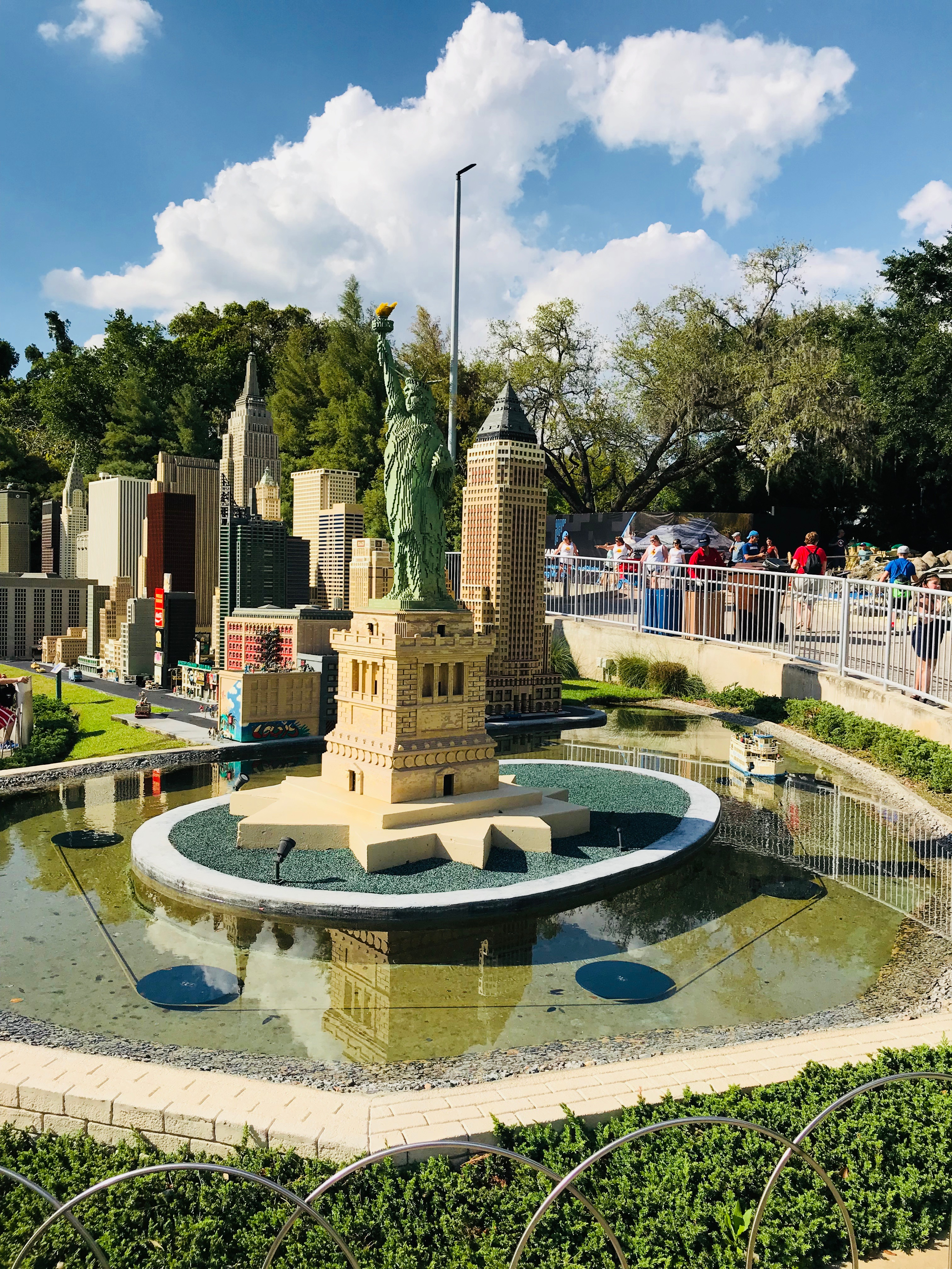 Miniland USA at LegoLand Florida