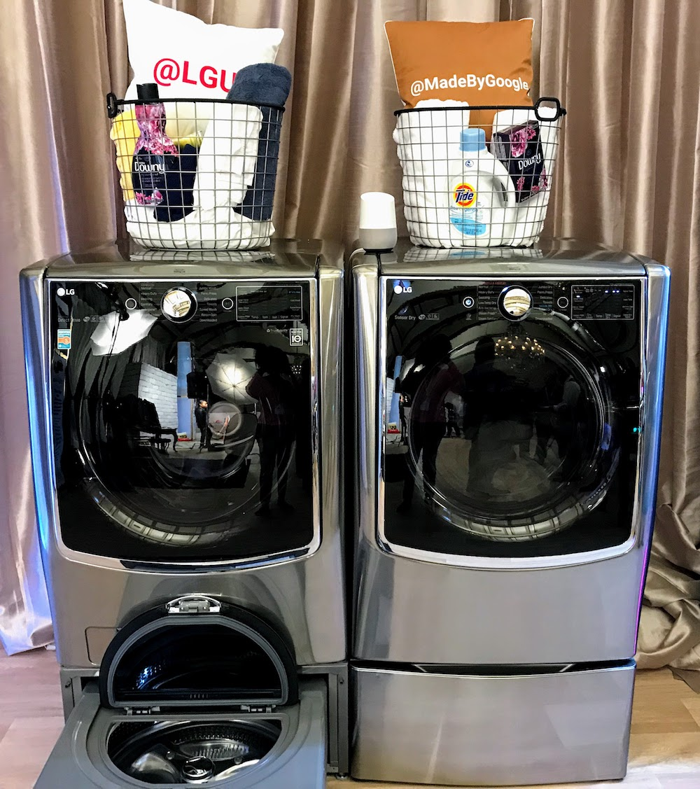 LG washers and dryers with SmartThinQ technology available at Best Buy