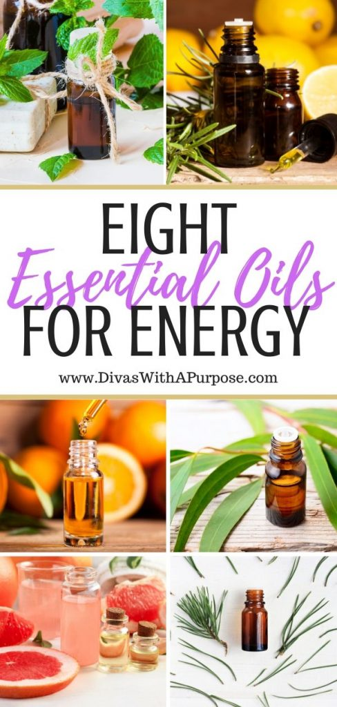 Have you considered incorporating essential oils for energy into your daily routine? This article shares eight essential oils to look into, why and how they can help. #essentialoils #energy #healthyhabits #naturalremedies