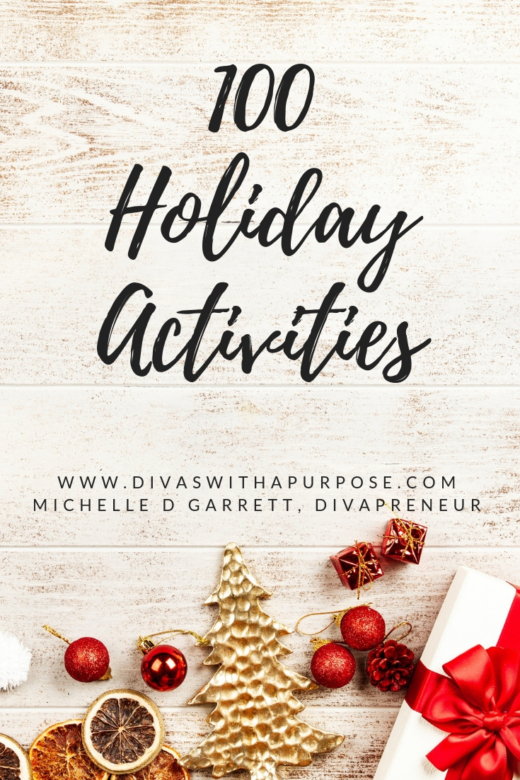 100 Holiday Activities